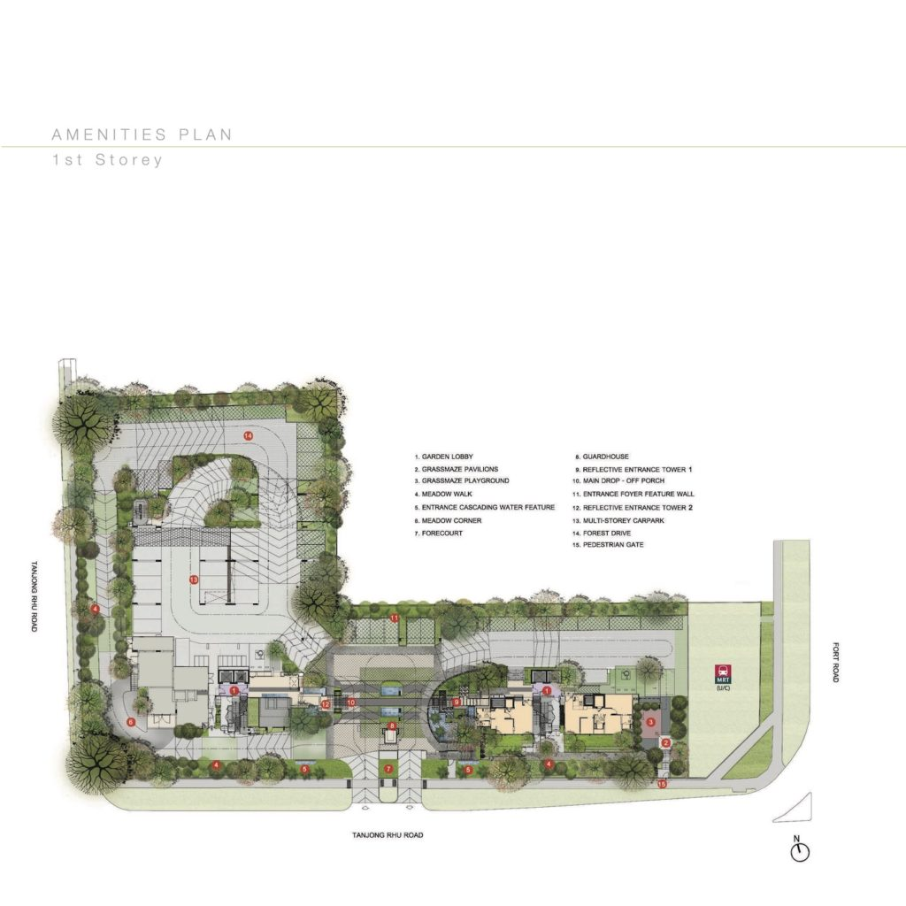 The Line Site Plan 1 Singapore